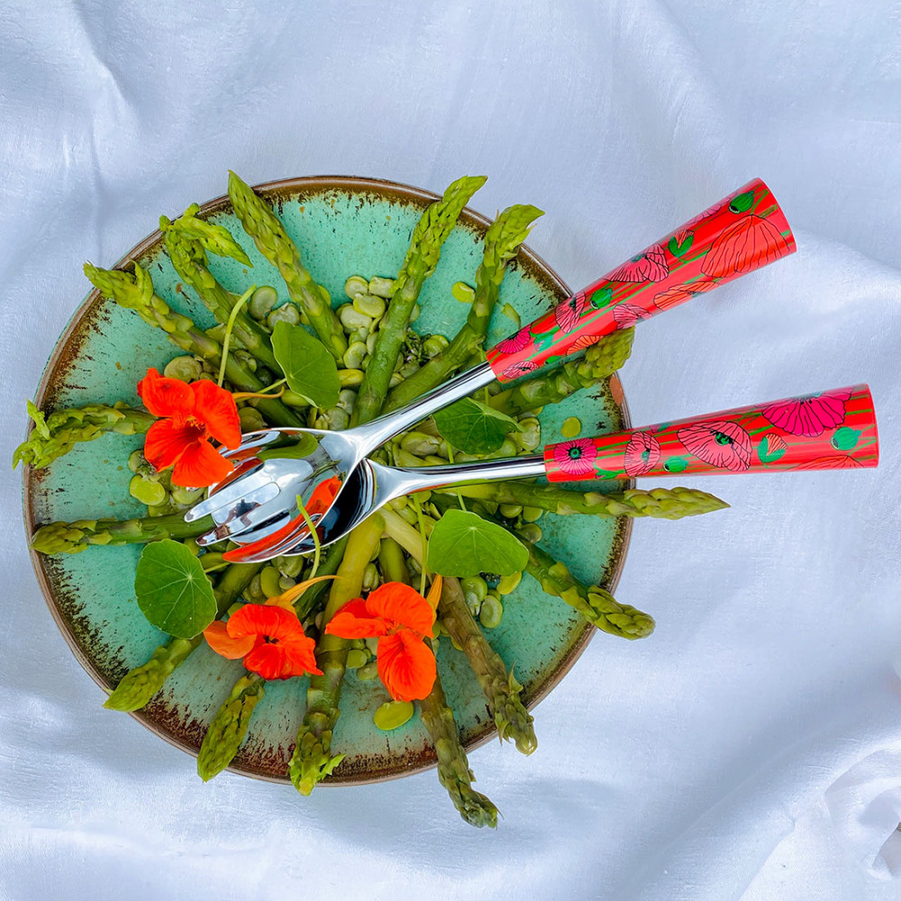 Salade-bestek-en-kommen