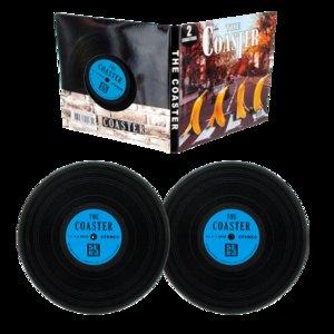 Onderzetters Vinyl Blue banana Pylones per 4