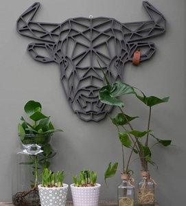 Wanddecoratie Stier